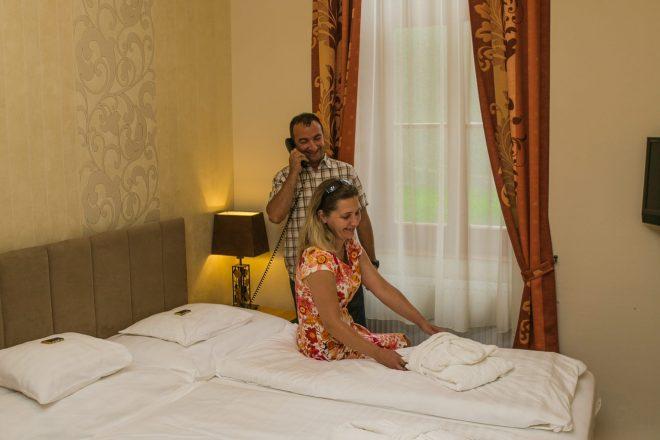Petite franciaágyas szoba Főnix Resort