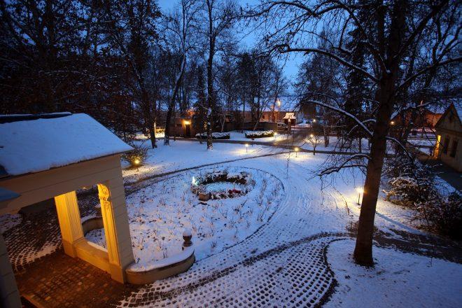 Kastély tél